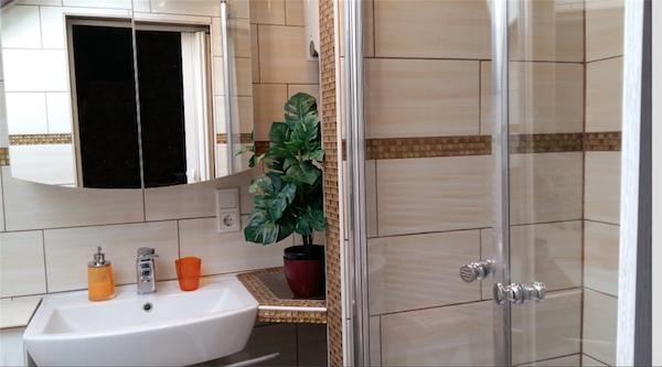 elegante Dusche